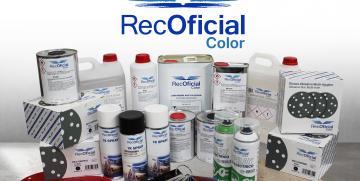 Recalvi presentará en Motortec su línea de pintura RecOficial Color