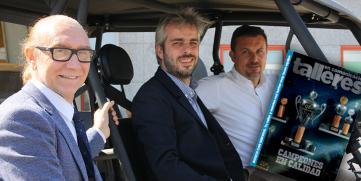 Talleres en Comunicación repasa con Recalvi y Movelco el presente y futuro del vehículo eléctr