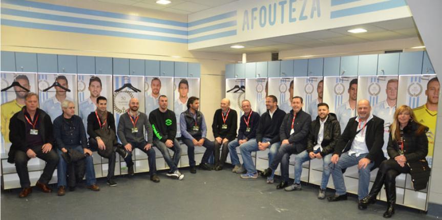 Fútbol y karts, con los amigos de Recalvi Cataluña