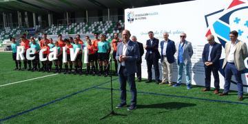 Recalvi, primer patrocinador de los árbitros gallegos