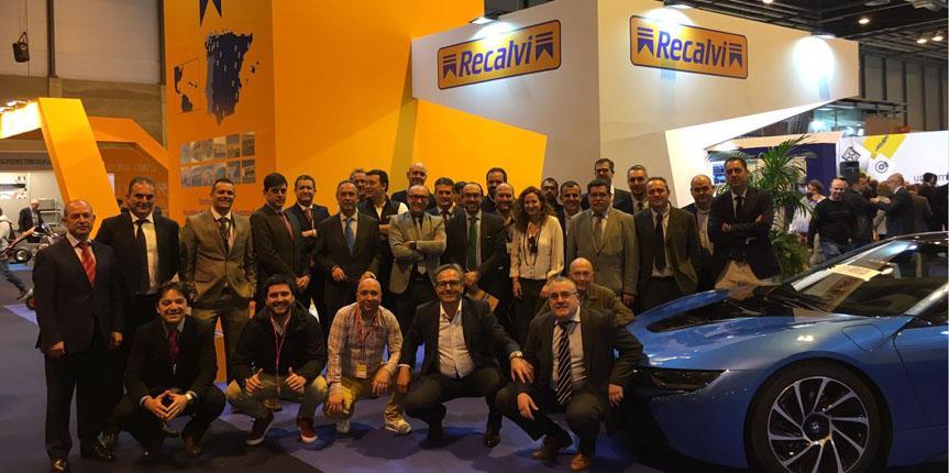 Recalvi conquista Motortec con sus soluciones de electromovilidad y su red RecOficial Service