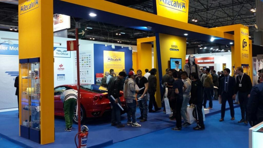 Imagen del stand de Recalvi en Motortec