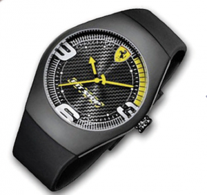 Pit Stop Carbon Dial Yellow