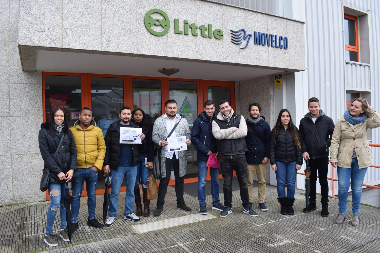 Grupo Recalvi colabora en el plan de empleo de Cruz Roja en Vigo