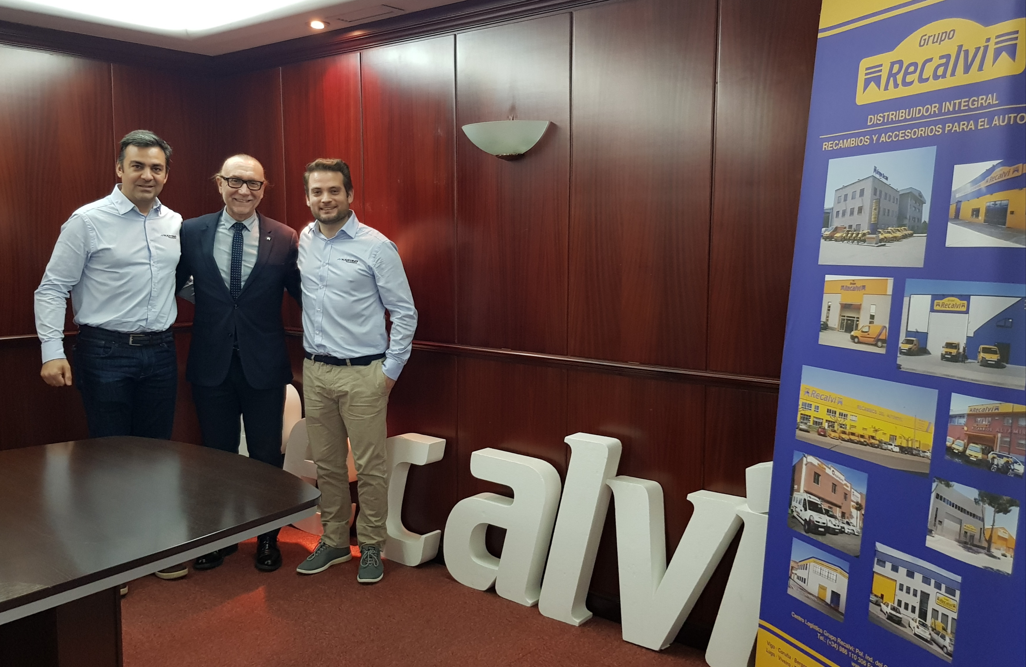 Grupo Recalvi patrocinará a Karting Marineda por cinco años más