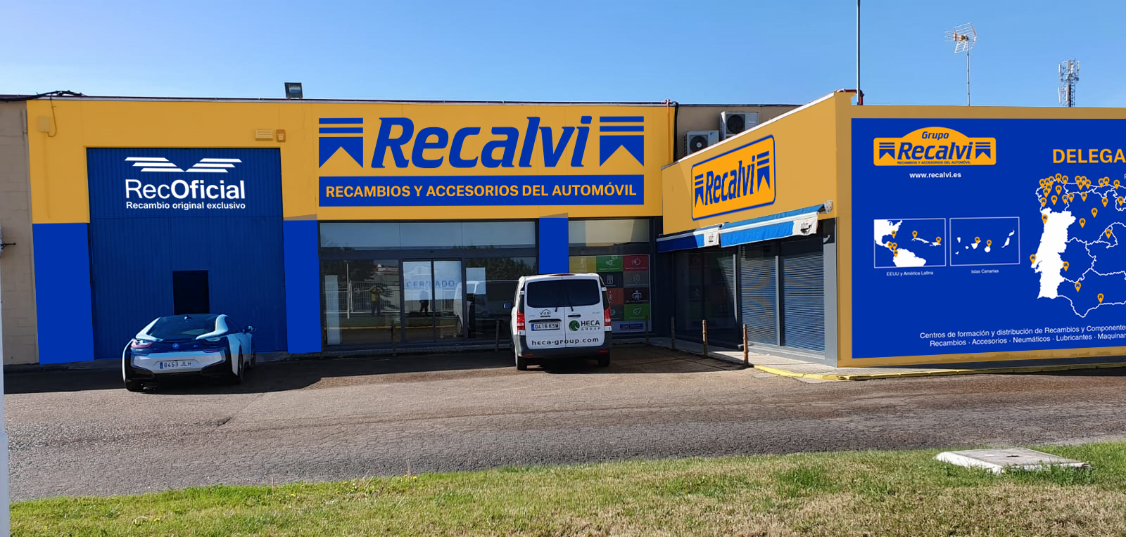 Recalvi desembarcará en Extremadura con su próxima apertura en Badajoz