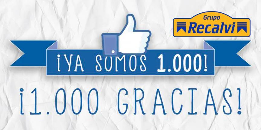 Recalvi rompe la barrera de los 1.000 fans en Facebook