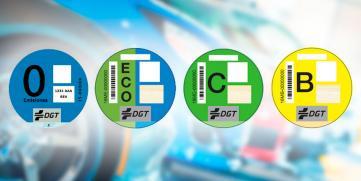 ¿Son obligatorios los distintivos ambientales de la DGT?