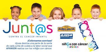 """Recalvi colabora con Ajusa en la campaña """"Junt@s contra el cáncer infantil"""""""