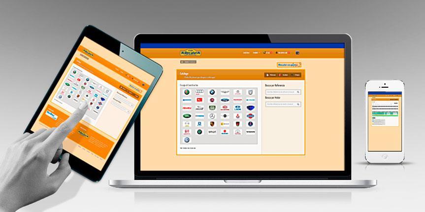 Recalvi lanza su catálogo online para clientes profesionales