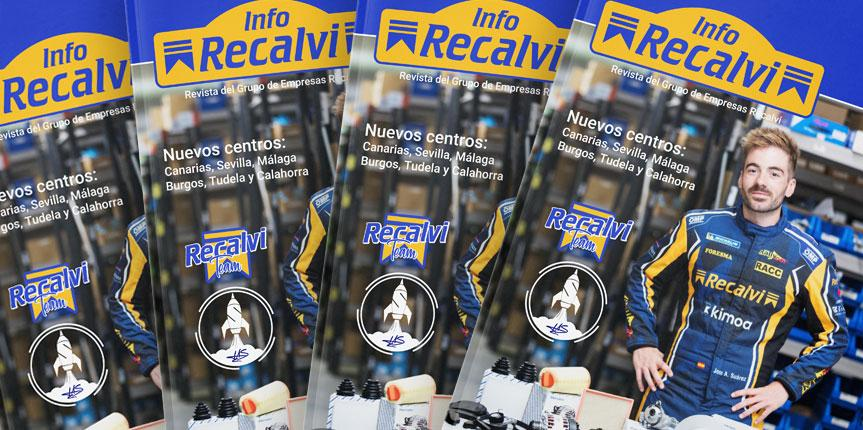 El Recalvi Team y las nuevas aperturas, protagonistas del nuevo número de InfoRecalvi