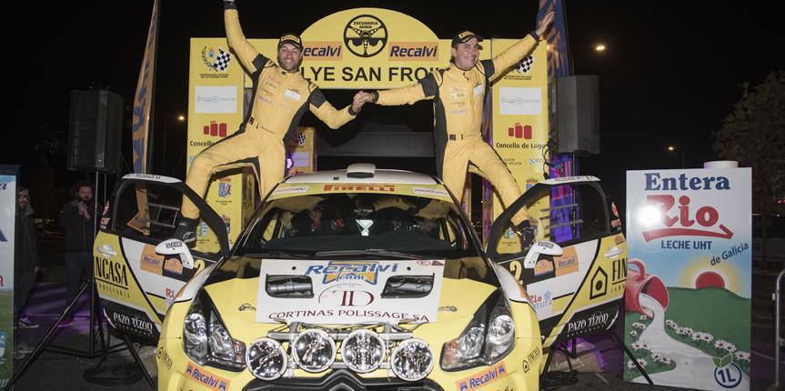 El Rallye Recalvi San Froilán brilla más que nunca con la victoria de Alberto Meira