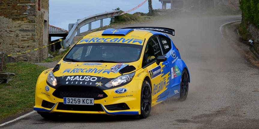 Recalvi, nuevo patrocinador del campeón asturiano de rallys Óscar Palacio
