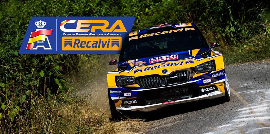 La CERA Recalvi será la nueva Copa de España de Rallyes de Asfalto
