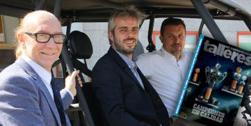 Talleres en Comunicación repasa con Recalvi y Movelco el presente y futuro del vehículo eléctrico