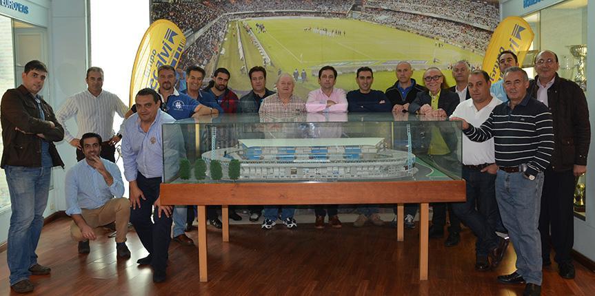 Tarde de fútbol con los amigos de Recalvi Madrid