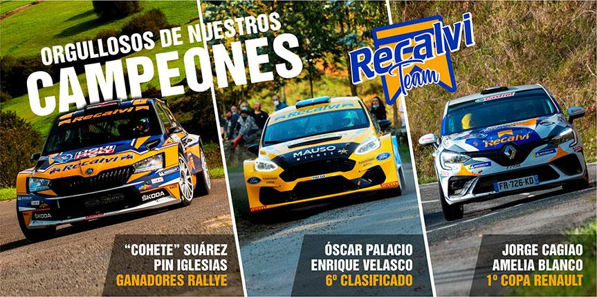 El Recalvi Team… ¡¡imparable!!