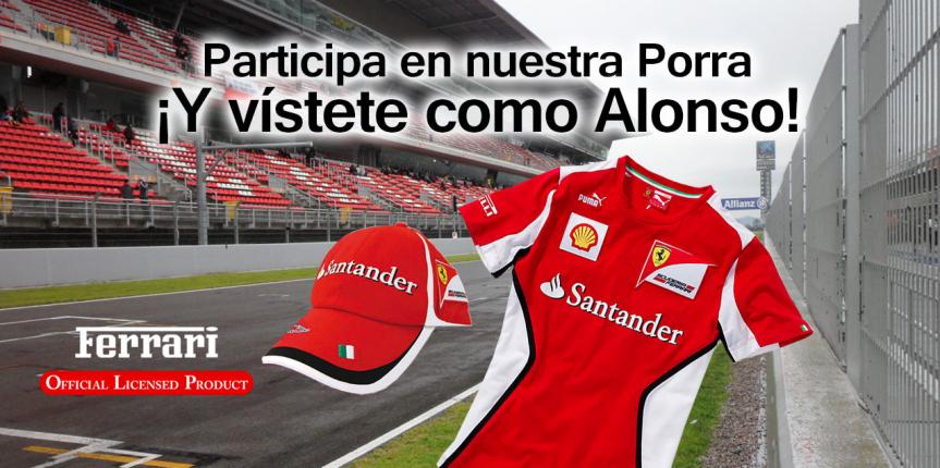 ¡Participa en nuestra porra de Fórmula 1!