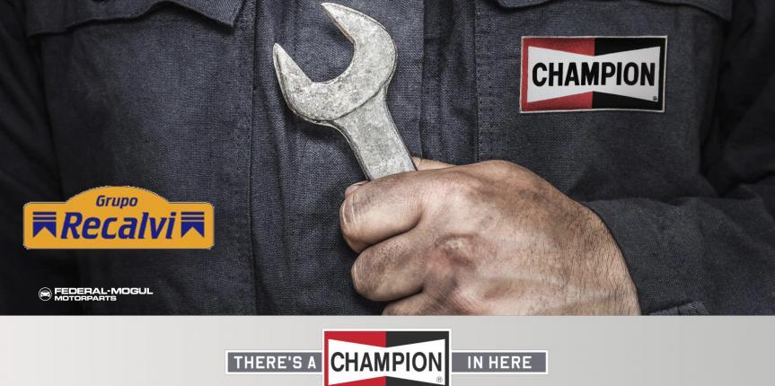 Recalvi presenta en Motortec el acuerdo de distribución de Champion