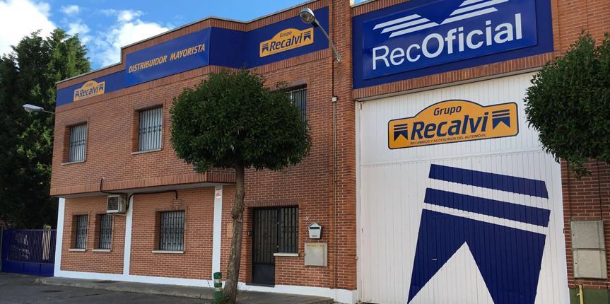 Recalvi Valladolid nace para servir al sector del recambio de Castilla y León