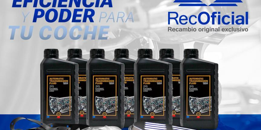 RecOficial lanza los nuevos Kits de mantenimiento para cajas de cambio automáticas